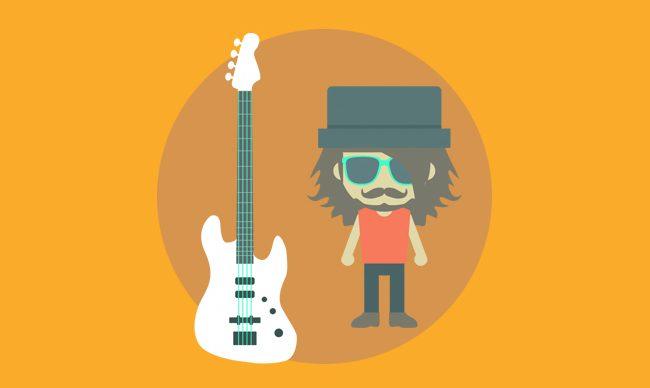 Уровни сложности игры на гитаре (легкий, средний, тяжелый)